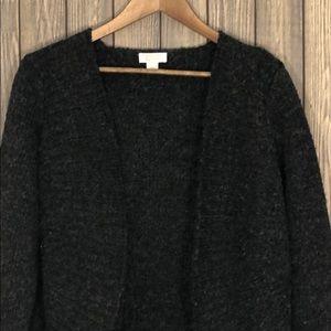 Christopher&Banks Short Wool Cardigan